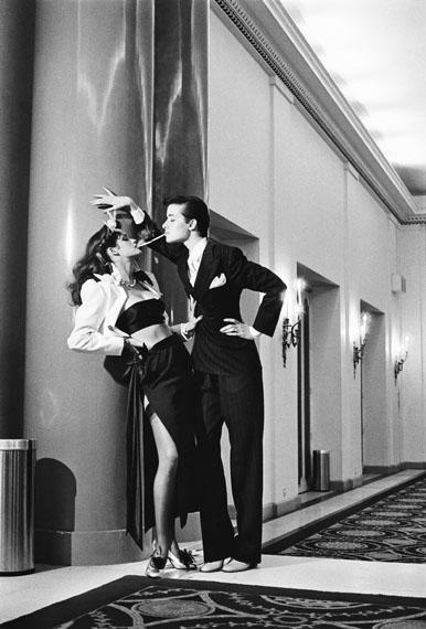 Helmut Newton: Fashion Yves Saint Laurent, French Vogue, Paris 1979© Helmut Newton Estate