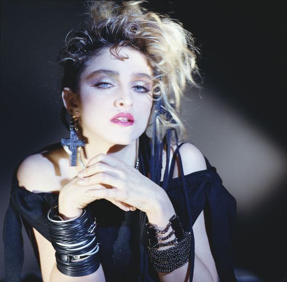 George Holz: Madonna, Hollywood, 1983© George Holz