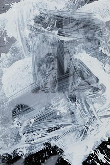 Portrait of Sylvie, Paris, 1985 Gelatin silver print 59 x 48 inches