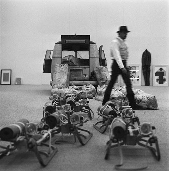 Lothar Wolleh: Josef Beuys, Stockholm, 1971© Oliver Wolleh, Berlin