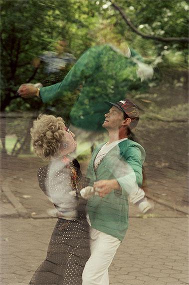 """Gundula Schulze Eldowy: New York 1992, aus der Serie """"Spinning on my Heels"""""""