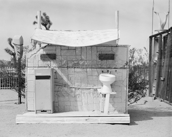HANNAH COLLINSThe Interior and the Exterior - Noah Purifoy201420 × 24 in / 50.8 × 61 cmSelenium toned silver gelatin printCourtesy the artist and Large Glass, London