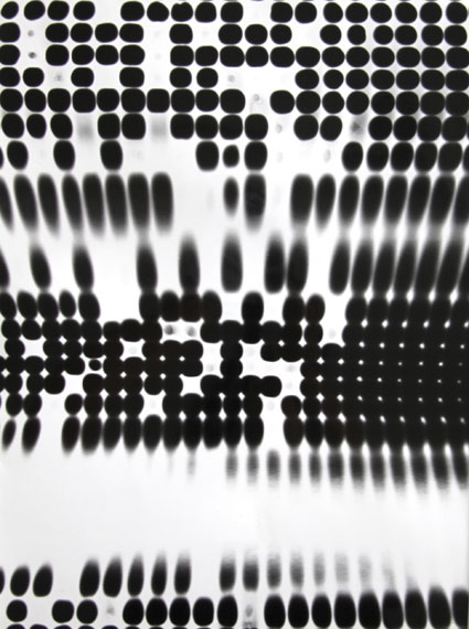 Roger Humbert: Untitled, Photogram on Baryt Paper (Agfa-Gevaert), 1952, 40,2 x 29,8 cm, Unique
