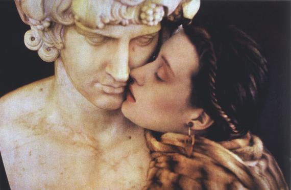 © Sheila MetznerThe Kiss. Fendi 1986