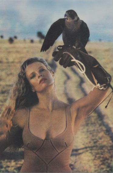 © Sheila MetznerKim Basinger. Africa 1988