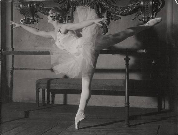 Lot 4099 Brassai. Marina Semyonova. 1935.  Vintage ferrotyped gelatin silver print