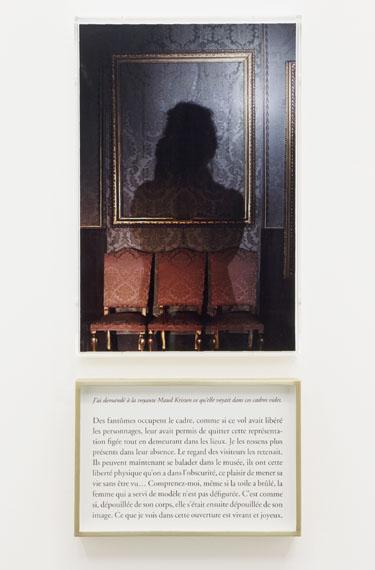 """Sophie Calle: """"Que voyez-vous ? La voyante"""", 2013 © Sophie Calle / ADAGP ParisPhoto: Claire Dorn / Courtesy Perrotin"""