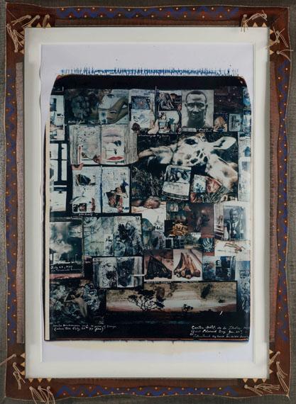 267Peter Beard Giant Polaroid Day, 20 janvier 1997.Large polaroid.