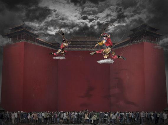 CHI PENGNOW-ing, 2012C-Print© Chi Peng