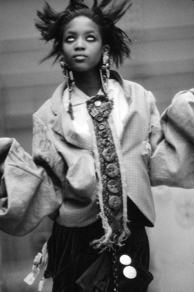 © Sheila Rock 'NAOMI' for Tempo Magazine, London, 1986