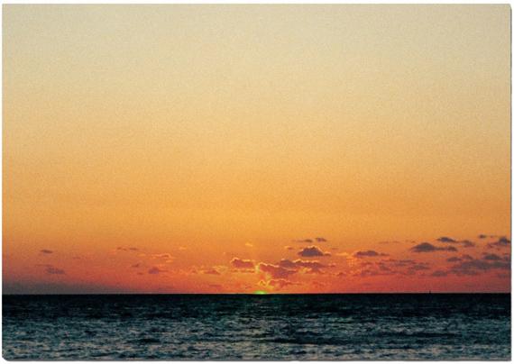 Tacita Dean, The Green Ray, 2001 (Postcard for Parkett 62)