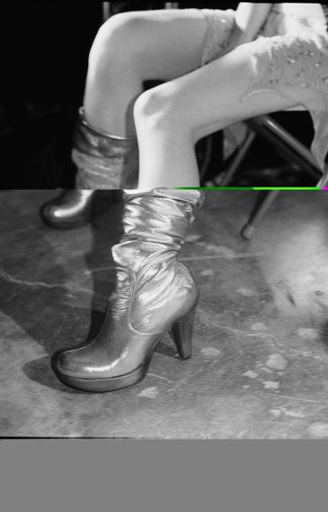 Just LoomisSilver Boots, Los Angeles 2003© Just Loomis