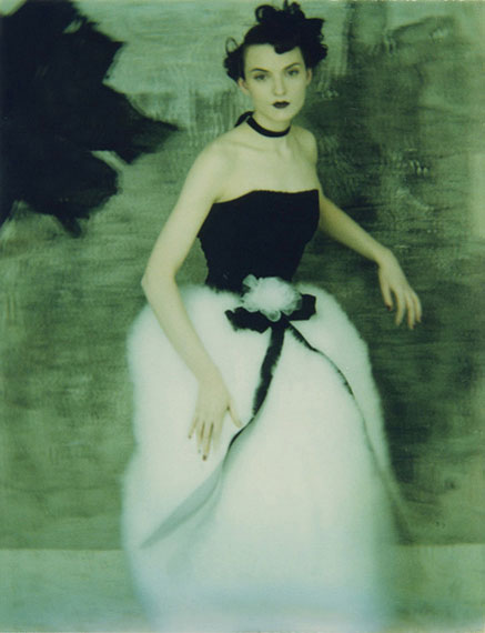 """Sarah Moon """"Chanel"""" 1994, Polaroid© and courtesy Persiehl & Heine, Galerie für Fotografie"""