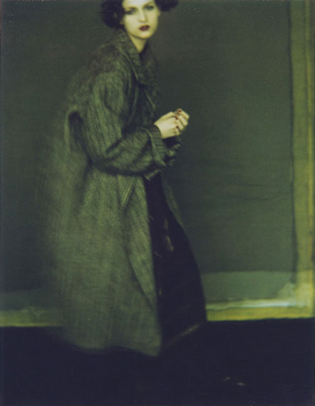 """Sarah Moon """"Issey Miyake"""" 1997, Polaroid© and courtesy Persiehl & Heine, Galerie für Fotografie"""