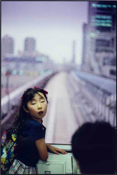 "Lot 1700MAGNUM PHOTOS""Selection Esther Woerdehoff"", 1947-2007. Portfolio with 15 original photographs.PINKHASSOV GUERGUI (1952). The new metro, Japan, Tokyo, 1996"