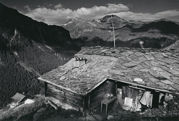 Monique Jacot, La Forclaz, val d'Hérens, 1985 © Monique Jacot - Fotostiftung Schweiz