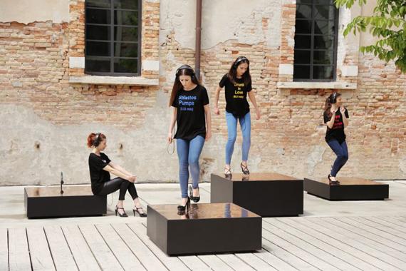 Video Performance at Viva Arte Viva, 57. Venice Biennial, 2017Duration 8:24 min© Nevin AladaAladağ