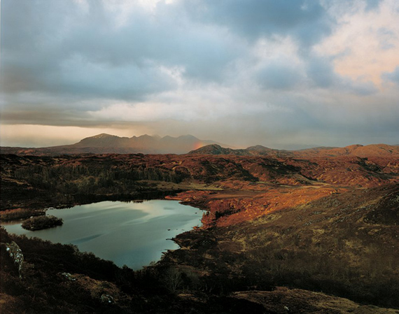 Loch Druim Suardalain and Quinag, 2006C print58 x 71in / 148 x 180cm (edition of 3)32 1/2 x 39 in / 83 x 100cm (edition of 7)© Harry Cory Wright