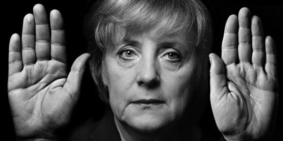 "Walter SchelsAngela Merkel, 2005from the series ""Hands""© Walter Schels"