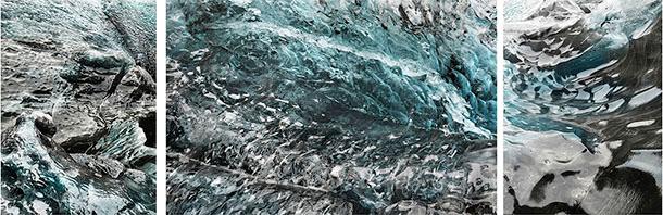 Michael Najjar: frozen waves, 2019