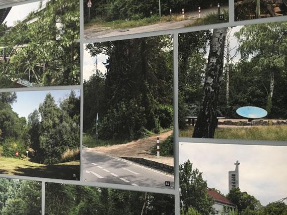 """© Daniela Friebel,  """"Revier"""" Ausstellungsansicht, 2018"""