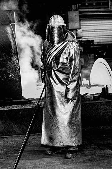 Till BrönnerWarrior, Thyssen Krupp SteelGermany, 2019© Till Brönnercourtesy ALEXANDER OCHS PRIVATE