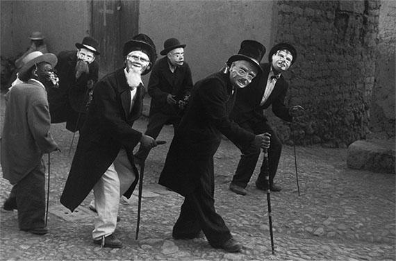 John CohenMacchu Tussec Dancers, Juli, Peru, 195627.7 x 35.40 cmGelatin silver print© John Cohen, courtesy L. Parker Stephenson Photographs, NYC