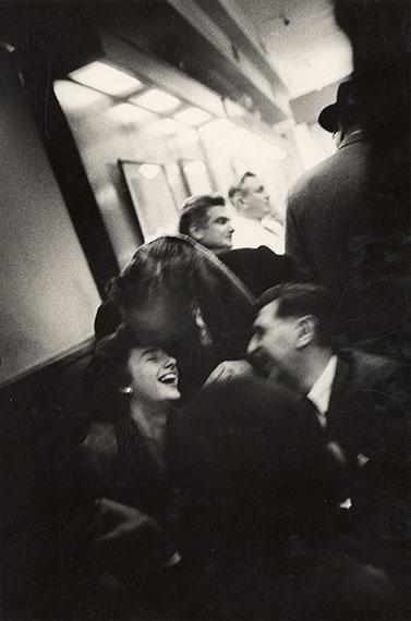 John CohenGrace Hartigan, Kaldis, Cotten, G. Spaventa, Cadar Bar, 196036.20 x 27.50 cmGelatin silver print© John Cohen, 2019