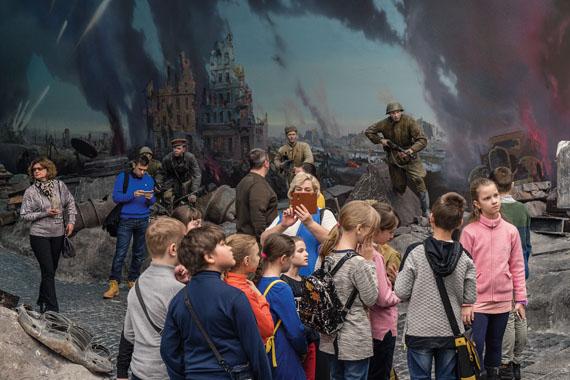Zentralmuseum des Großen Vaterländischen Krieges, Moskau, März 2018 © Frank Gaudlitz