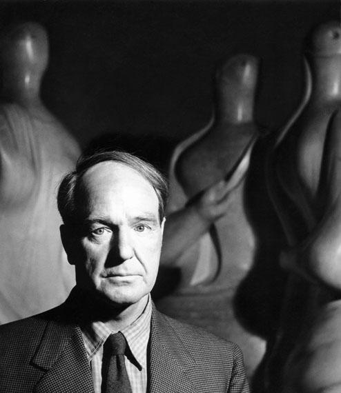 © Liselotte Strelow, 'Henry Moore', 1955 - Courtesy Johanna Breede