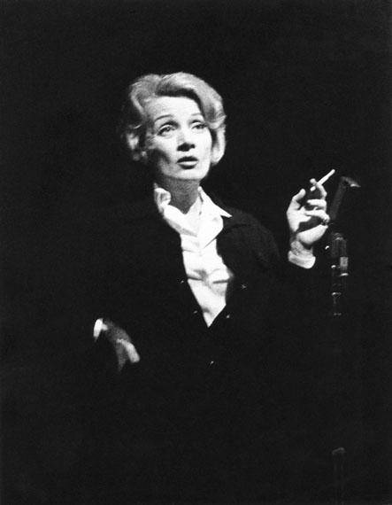 © Liselotte Strelow, 'Marlene Dietrich', 1960  - Courtesy Johanna Breede