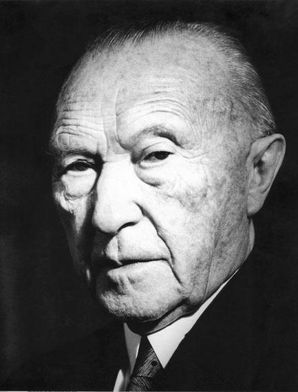 © Liselotte Strelow, 'Konrad Adenauer', 1963 - Courtesy Johanna Breede