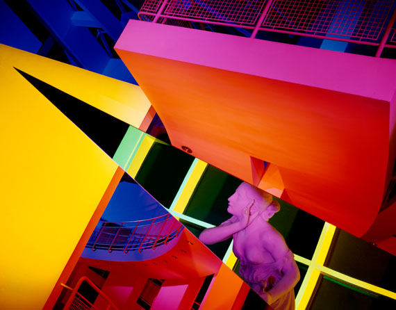 Barbara Kasten: Architectural Site 17, High Museum of Art, Atlanta, GA, August 29, 1988 © Barbara Kasten / Kadel Willborn, Düsseldorf