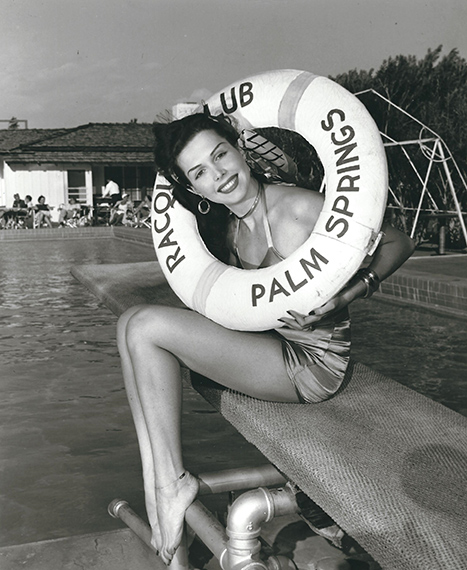 Bernard of Hollywood: Ann Miller, Palm Springs