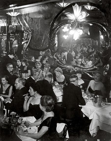 Gala Soiree at Maxims, 1949 © Estate Brassaï Succession, Paris