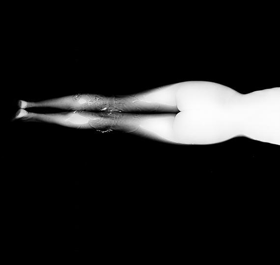 Kate Swimming Across The River, 1963 © The Sam Haskins Estate, courtesy of Atlas Gallery