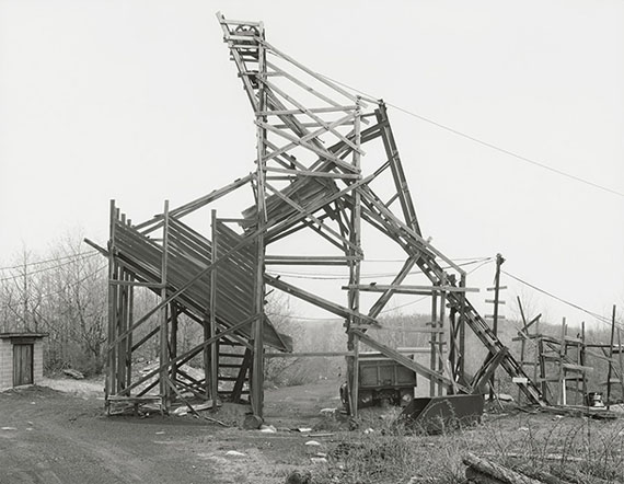 Bernd & Hilla Becher: Stahl Coal Co., Goodspring Mountains, Schuylkill County 1975