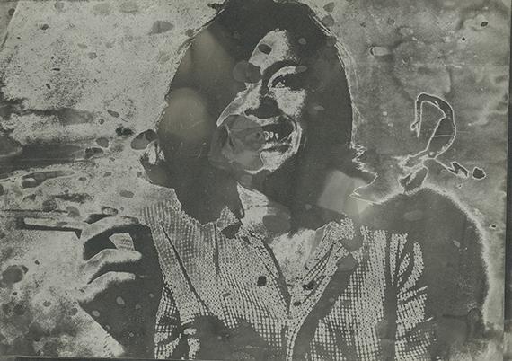 Sigmar Polke, Sans titre (Hannelore Kunert), 1970-1980, Collection de Georg Polke Sigmar Polke, Cologne/ADAGP, 2019