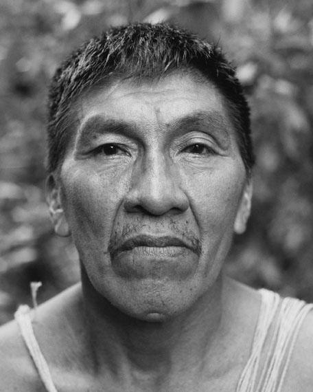 Guido Baselgia, Amo, (of the Waorani nation), 2018© Guido Baselgia