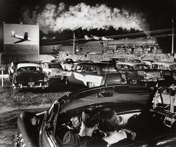 HOTSHOT EASTBOUND AT THE IAEGER DRIVE-INIaeger, West Virginia, 1956© O. Winston Link / O. Winston Link Museum, Roanoke, Virginia