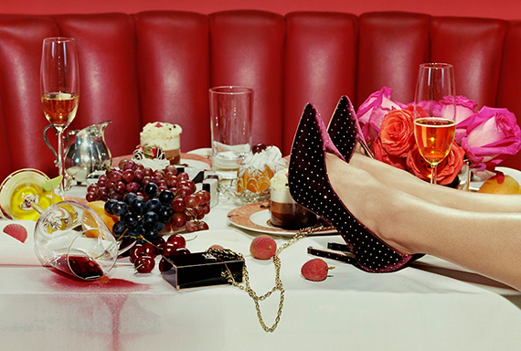 Miles AldridgeCrazy Rich Asian's #1, 2013©Miles Aldridge / Courtesy of Christophe Guye Galerie