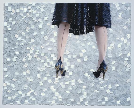 Sissi Farassat: Stay 4, 2019, 20 X 25, C-Print with Swarovski, unique piece