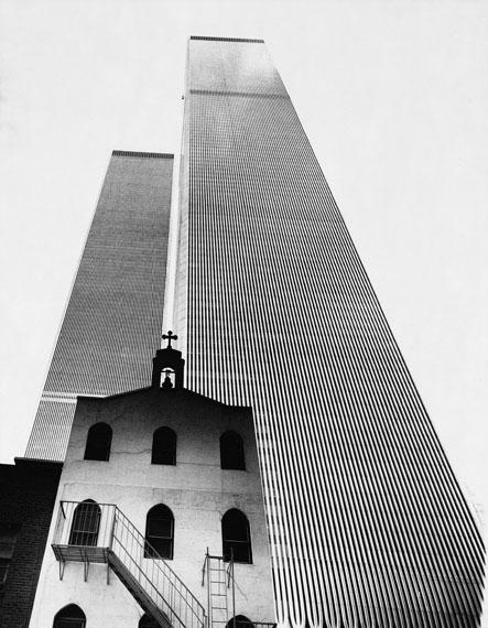 World Trade Center, New York 1977, © Hannes Kilian