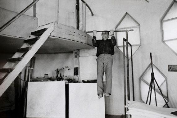 © Helga ParisSohn des Architekten Konstantin S. MelnikowAus der Serie Moskau 1991/92Besitz der Künstlerin