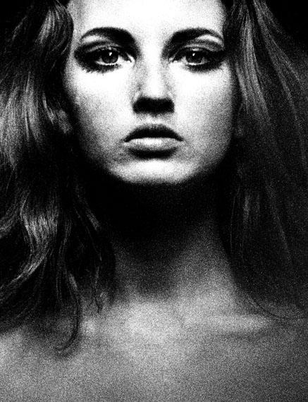 SAM HASKINSNovember Girl, Face Close Up, 1966Vintage gelatin silver print30.4 x 37.2 cm