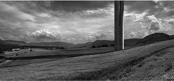 © Aitor Ortiz, Millau 007, 2008, Archival pigment print, 57 x 125 cm