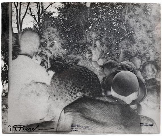 Untitled, 1970Vintage gelatin silver print60 x 50 cm© Gerard Fieret, Kahmann Gallery