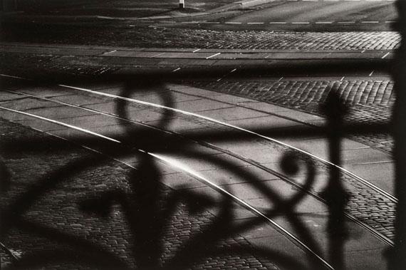 Christian Borchert: Vom Bahnhof Dresden-Neustadt (aus: Tektonik der Erinnerung), 1991© Kupferstich-Kabinett, Staatliche Kunstsammlungen Dresden