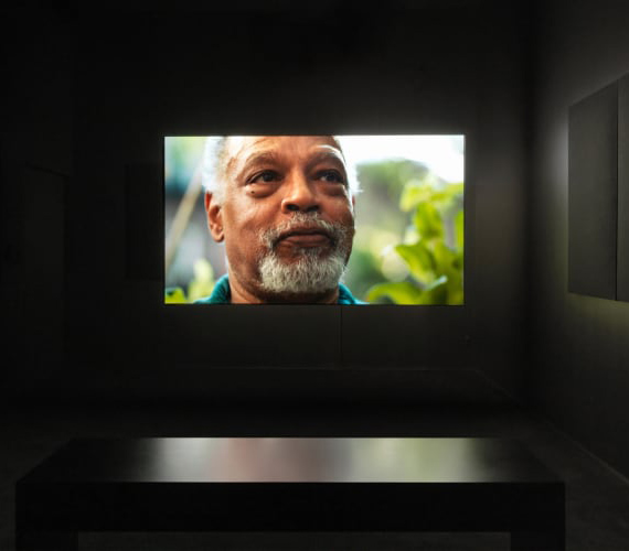 Adam PendletonIshmael in the Garden: A Portrait of Ishmael Houston-Jones, 2018Video/FilmBlack-and-white and color video, sound5 + 2 APs24 minCourtesy Pace Gallery