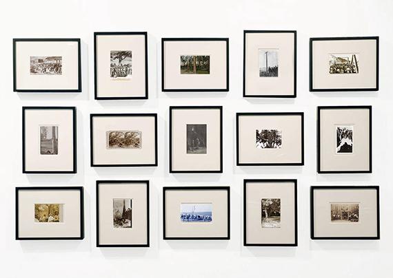 Ken Gonzales-Day, Erased Lynching Postcards II, 201915 light jet prints on archival board, 4 x 6 in. each | 10.2 x 15.2 cm eachCourtesy Luis De Jesus Los Angeles